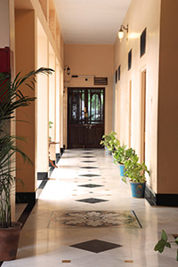 Hotel Arya Niwas Jaipur provides wheelchair access and elevators to all guest floors.